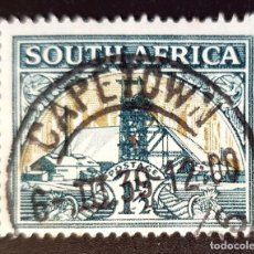 Sellos: SOUTH-AFRICA - LOCAL MOTIVES, COUNTRY NAME IN ENGLISH OR AFRIKAANS - 1½ P - 1933. Lote 149034570