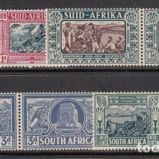 Sellos: AFRICA DEL SUR YVERT CORREO 92/9 PAREJAS ** MNH. Lote 152188645