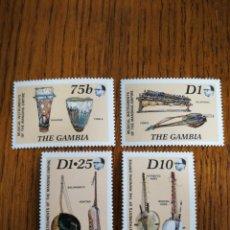 Sellos: GAMBIA: SCOTT 856/59 MNH.. Lote 153833928