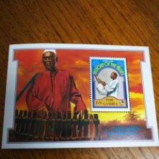 Sellos: GAMBIA: MICHEL BLOQUE N°41MNH.AÑO 1992. Lote 153837708