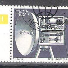 Sellos: REPÚBLICA SUDAFRICANA Nº 457º 25 ANIVERSARIO DE LA INVENCIÓN DEL TELURÓMETRO. COMPLETA. Lote 157112862