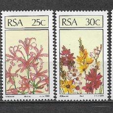 Sellos: SUDAFRICA 1985 ** NUEVO SC 656-659 (4) 3.00 FLORA - 3/30. Lote 158163966