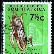 Sellos: SUDAFRICA SCOTT: 274-(1962) (MAIZ) USADO. Lote 158855758