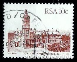 SUDAFRICA SCOTT: 576-(1982) (PIETERMARITBURG) USADO (Sellos - Extranjero - África - Sudáfrica)