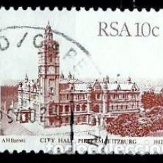 Sellos: SUDAFRICA SCOTT: 576-(1982) (PIETERMARITBURG) USADO. Lote 158969330