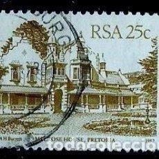Sellos: SUDAFRICA SCOTT: 584-(1982) (CASA DE MELROSE, PRETORIA) USADO. Lote 158969966