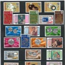 Sellos: SWAZILAND,1979,AÑO COMPLETO,SELLOS CONMEMORATIVOS, NUEVOS, MNH**,YVERT 307-330. Lote 161299214