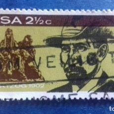 Sellos: SUDÁFRICA 1968. YVERT 313. MONUMENTO AL GENERAL HERTZOG. USADO. Lote 168336260