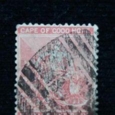 Sellos: SUDAFRICA, CAPE OF GOOD HOPE, SIX PENCE, AÑO 1964. SIN DENTAR. Lote 169827268