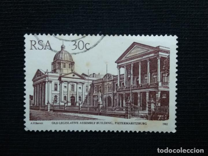 Sellos: R.SUDAFRICA, 30 C, OLD LEGISLATIVE AÑO 1961, - Foto 1 - 171708838