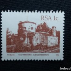 Sellos: R.SUDAFRICA, 1 C, GRAHAMSTOWN, AÑO 1982, NUEVO. Lote 171709067