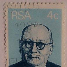 Sellos: SELLO RSA ÁFRICA DEL SUR AÑO 1974. Lote 174343868