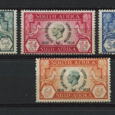 Sellos: SUDÁFRICA, SELLO, SOUTH AFRICA, KING GEORGE V & SILVER JUBILEE, 1935, STAMPS. Lote 177234855