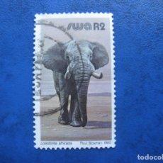 Sellos: -AFRICA SUDOESTE 1980, ELEFANTE AFRICANO, YVERT 449. Lote 177507885