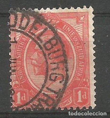 ÁFRICA DEL SUR - 1 PENIQUE - REY EDUARDO VII - UNION OF SOUTHAFRICA - VISITA MIS OTROS LOTES (Sellos - Extranjero - África - Sudáfrica)