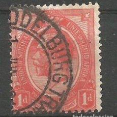 Sellos: ÁFRICA DEL SUR - 1 PENIQUE - REY EDUARDO VII - UNION OF SOUTHAFRICA - VISITA MIS OTROS LOTES. Lote 177725737