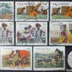 Sellos: SELLOS DE TRANSKEI (SUDÁFRICA). Lote 177728554