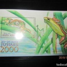 Sellos: SUDAFRICA 2000 - HOJA BLOQUE NUEVO. Lote 178320536