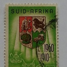 Sellos: SELLO RSA SOUTH AFRICA SUDAFRICA AFRICA DEL SUR AÑO 1960 USADO. Lote 179046177