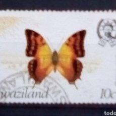 Sellos: SWAZILÀNDIA MARIPOSAS SELLO USADO. Lote 179395885
