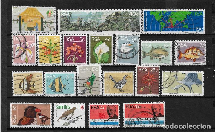 SUDÁFRICA LOTE SELLOS USADOS - 7/46 (Sellos - Extranjero - África - Sudáfrica)