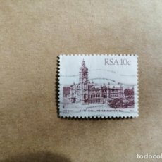 Sellos: RSA - SUDAFRICA - SURAFRICA - 10C - CITY HALL - 1982. Lote 189893535