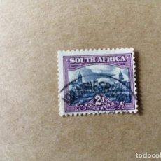 Sellos: SUDAFRICA - VALOR FACIAL 2 D - AÑO 1950 - PARLAMENTO DE PRETORIA - SCOTT 55B. Lote 192643967