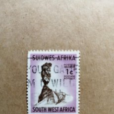 Sellos: SUDAFRICA - VALOR FACIAL 1 C - AÑO 1961 - AFRICA SUDOESTE - YV 255 . Lote 192645216