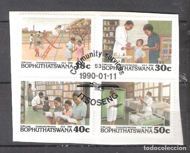BOPHUTHATSWANA (REP. SUDAFRICANA) Nº 231/34º SERVICIOS PÚBLICOS. SERIE COMPLETA (Sellos - Extranjero - África - Sudáfrica)