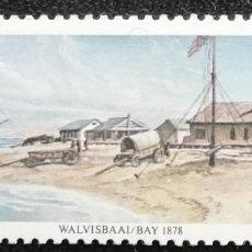 Sellos: 1978. SUDÁFRICA. 442. CENTENARIO DE LA ANEXIÓN DE WALVIS BAY. SERIE COMPLETA. NUEVO.. Lote 195307616