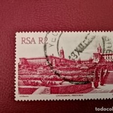 Sellos: SUDÁFRICA - RSA - VALOR FACIAL R 2 - MONUMENTOS: UNIGEBOU PRETORIA - YV 522. Lote 196004927