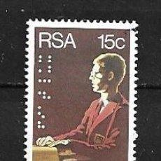 Sellos: ÁFRICA DEL SUR, 1981, INSTITUCIÓN CIEGOS,MICHEL 588, NUEVOS, MNH**. Lote 203488371