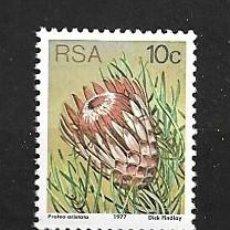 Sellos: ÁFRICA DEL SUR, 1977,PROTEA ARISTATA, MICHEL 521, NUEVOS, MNH**. Lote 203489822