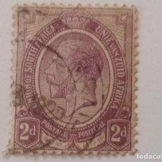 Sellos: SUDÁFRICA 1913 - 1922 REY JORGE V 2D. Lote 206225440