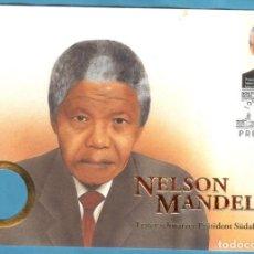Sellos: SOBRE DEL PRIMER DÍA NELSON MANDELA 1994. Lote 206836908