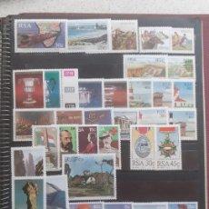 Selos: SUDÁFRICA. 37 SELLOS NUEVOS. Lote 207880723