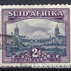 Selos: SUDÁFRICA 1950 - MOTIVOS LOCALES - SELLO USADO. Lote 210023521