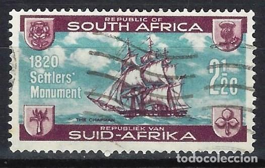 SUDÁFRICA 1962 - MONUMENTO A LOS COLONOS BRITÁNICOS - SELLO USADO (Sellos - Extranjero - África - Sudáfrica)