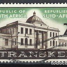 Sellos: SUDÁFRICA 1963 - 1ª REUNIÓN ASAMBLEA LEGISLATIVA DE TRANSKEI - SELLO USADO. Lote 210027437