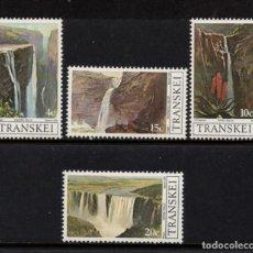 Timbres: TRANSKEI 58/61** - AÑO 1979 - TURISMO - CASCADAS DE TRANSKEI. Lote 215271253