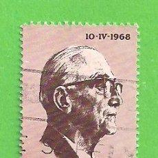 Sellos: SUDÁFRICA - MICHEL 361 - YVERT 311 - INAGURACIÓN DE LA PRESIDENCIA FOUCHE. (1968).. Lote 219189156