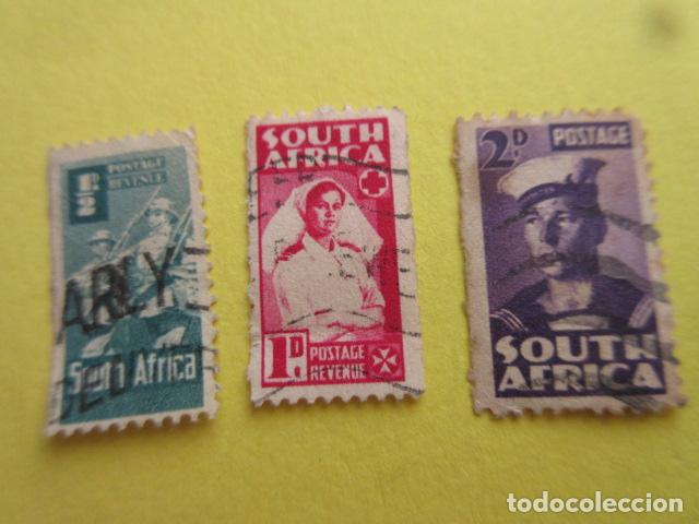 LOTE 3 SELLOS SUDAFRICA SUID AFRIKA SOUTH AFRICA (Sellos - Extranjero - África - Sudáfrica)