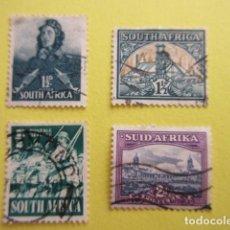 Sellos: LOTE 4 SELLOS SUDAFRICA SUID AFRIKA SOUTH AFRICA. Lote 220651508