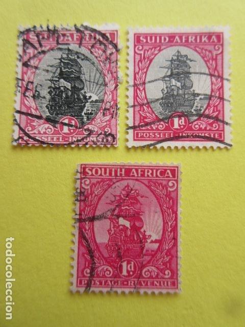 LOTE 3 SELLOS SUDAFRICA SUID AFRIKA SOUTH AFRICA ZUID UNION (Sellos - Extranjero - África - Sudáfrica)