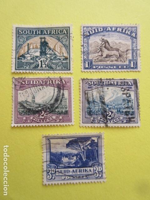 Sellos: LOTE 5 SELLOS SUDAFRICA SUID AFRIKA SOUTH AFRICA ZUID UNION - Foto 1 - 220651766