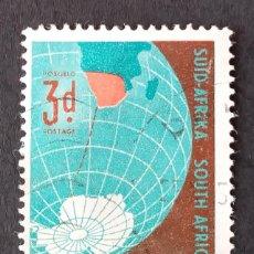 Sellos: 1959 SUDÁFRICA EXPEDICIÓN ANTÁRTICA NACIONAL SUDAFRICANA. Lote 221377423