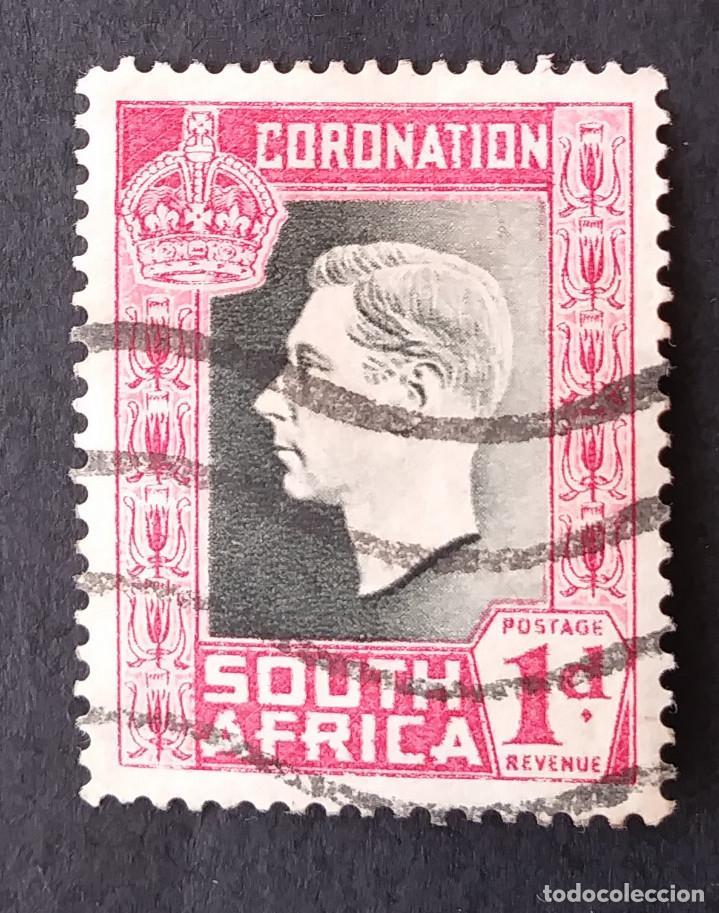 1937 SUDÁFRICA CORONACIÓN DEL REY JORGE VI (Sellos - Extranjero - África - Sudáfrica)