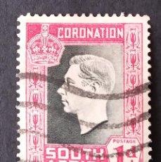 Sellos: 1937 SUDÁFRICA CORONACIÓN DEL REY JORGE VI. Lote 221378208