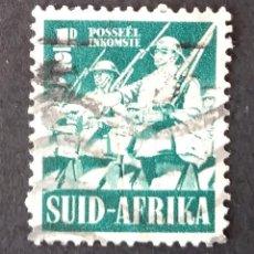 Sellos: 1941 SUDÁFRICA ESFUERZO DE GUERRA. Lote 221378320