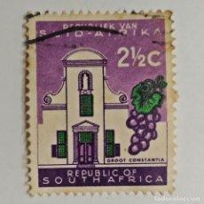 Sellos: REPÚBLICA SUDAFRICANA. SELLO USADO DE 2½ C, DE 1961. ENVÍO GRATIS POR PEDIDOS DE 3€ Ó MÁS.. Lote 229840650